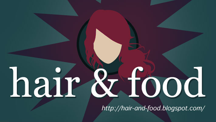 Web Site Design - Hair and Food - rys.1