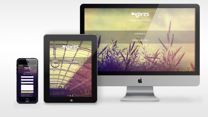 Web Site Design - YPRES - rys.1